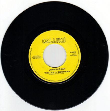 SALE ITEM -  Jolly Brothers - Conscious Man / Ansel Collins - Special (Collins) UK 7""